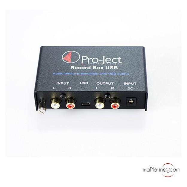 Préamplificateur PRO-JECT RECORD BOX USB DC
