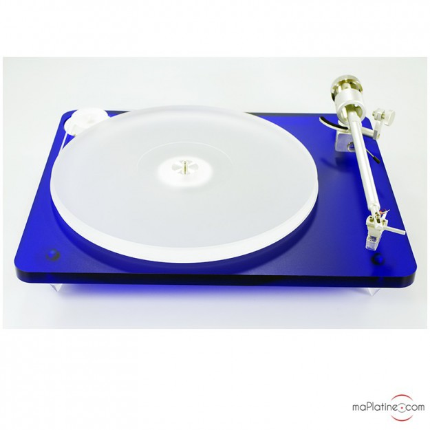 Platine vinyle manuelle Clearaudio Bluemotion