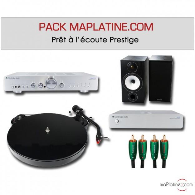 Pack Prêt à l'écoute Prestige maPlatine.com