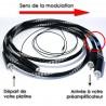 Câble phono Pro-Ject Connect It RCA C - 123 cm