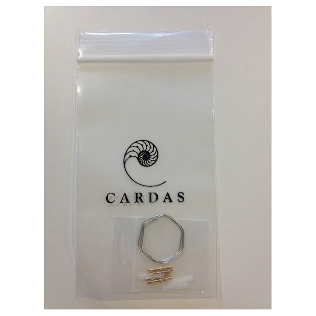 4 fiches cellule CARDAS en Rhodium
