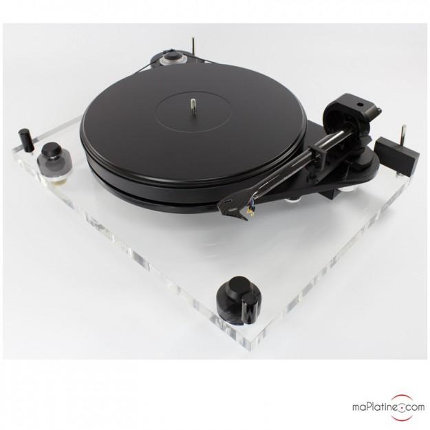platine vinyle manuelle pro ject 6 perspex acryl dc. Black Bedroom Furniture Sets. Home Design Ideas