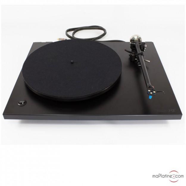 Occasion platine vinyle Rega P3-24 noire + Alimentation Rega TTPSU