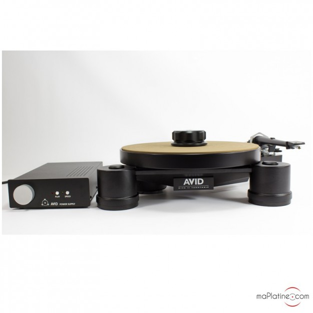 Platine vinyle manuelle AVID Diva II SP + Bras SME 309