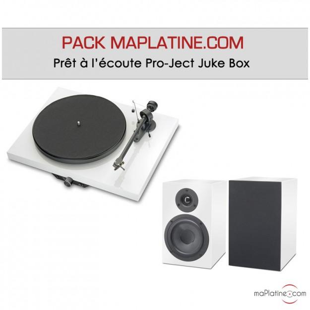 Pack Prêt à l'écoute Pro-Ject Juke Box