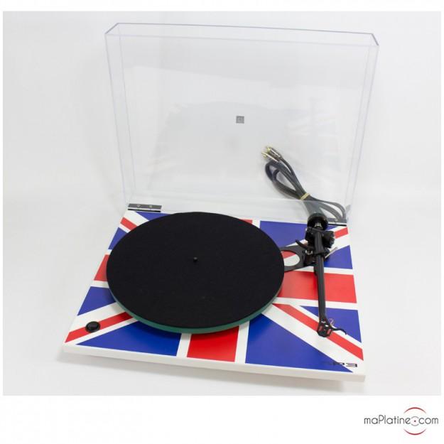 Platine vinyle d'occasion Rega RP3 Union Jack