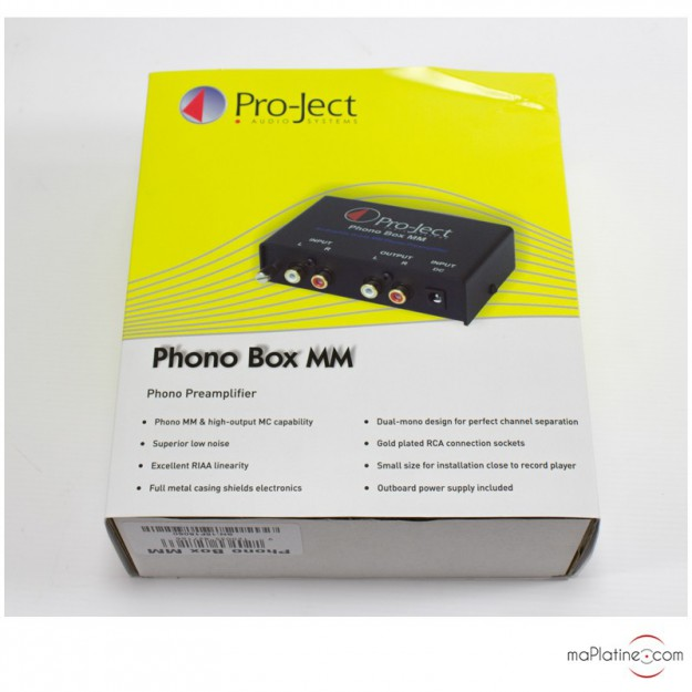 Occasion préamplificateur phono Pro-Ject MM/DC