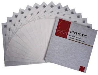 Pochettes antistatiques Milty Exstatic Record Sleeve (par 25)