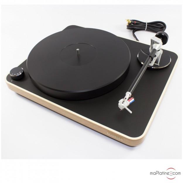 Platine vinyle manuelle Clearaudio Concept MC WOOD