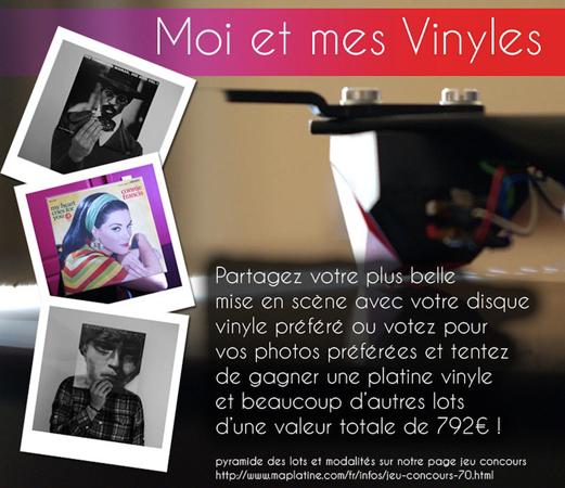 Concours Facebook - moi et mes vinyles