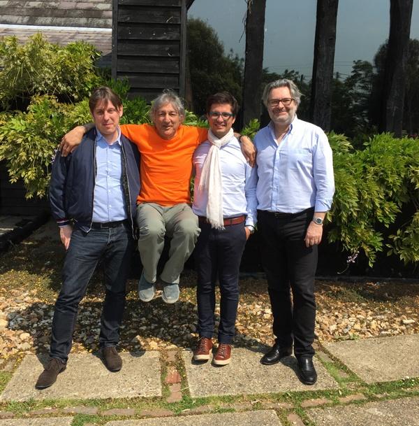 maPlatine.com en compagnie de Roy Gandy et Guy Boselli