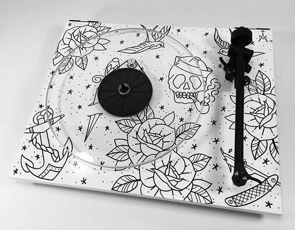 Platine vinyle REGA Planar 1 customisée