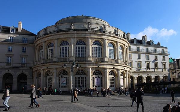 Facade de l'Opéra de Rennes