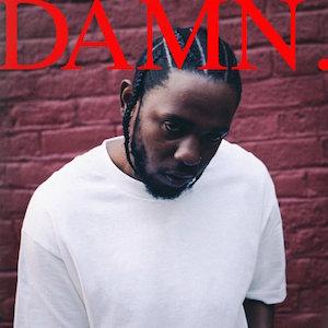 Pochette de DAMN. de Kendrick Lamar