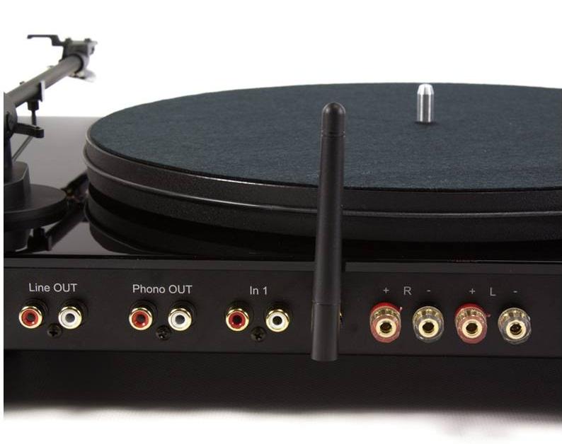 Options proposées par la platine vinyle Pro-Ject Juke Box E