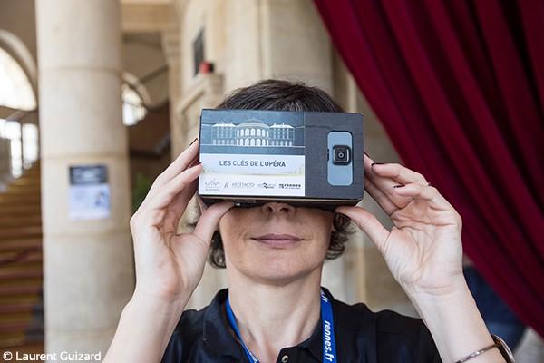 Visite virtuelle de l'Opéra de Rennes - Demo Artefacto