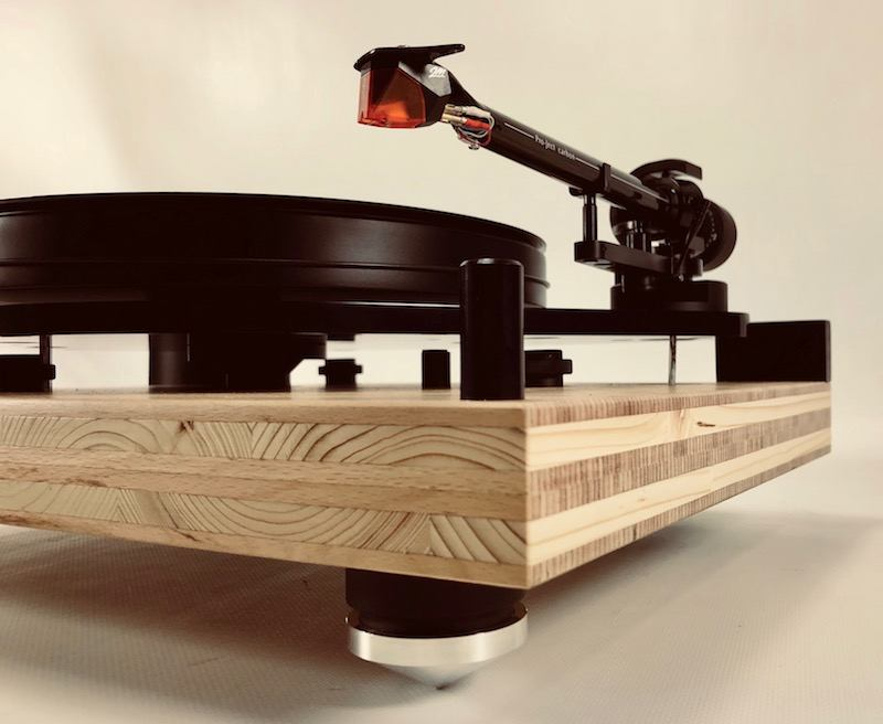 Customized Pro-Ject 6-Perspex SB turntable - 1