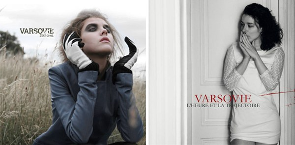 Pochettes albums du groupe VARSOVIE