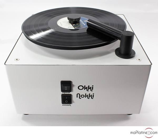 Okki Nokki Record Cleaner record cleaning machine