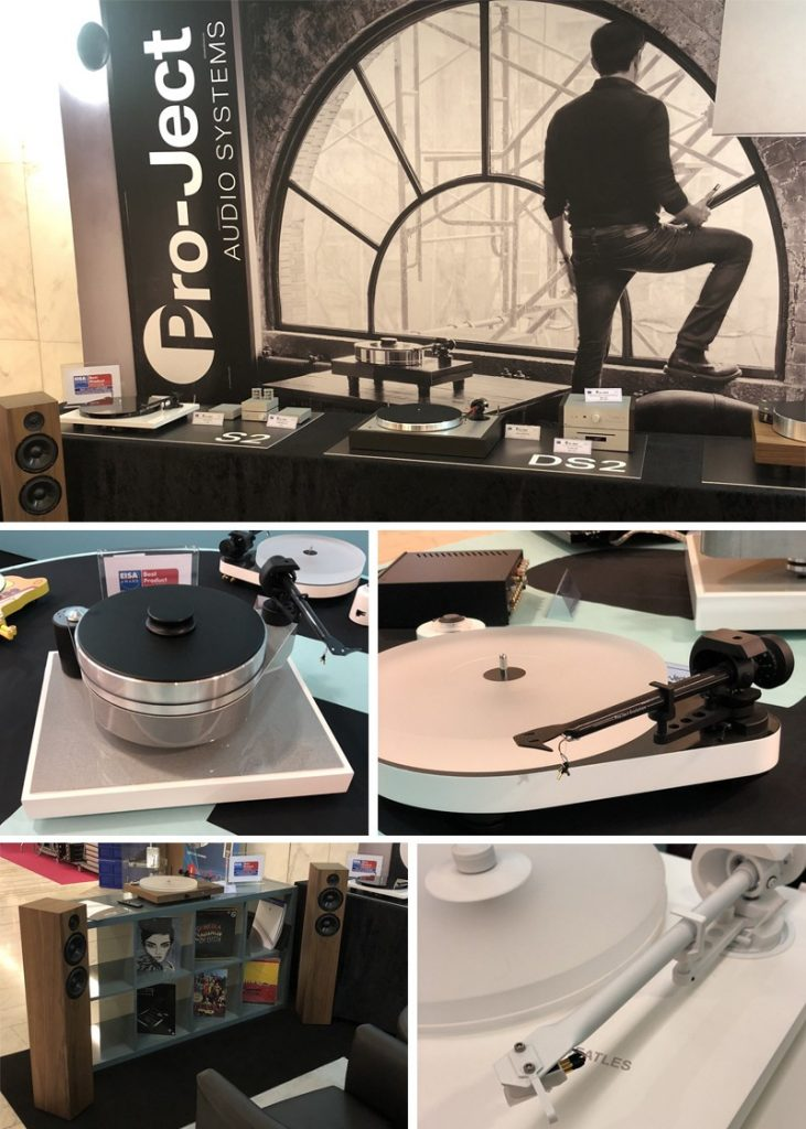 La marque Pro-Ject au salon Paris AudioVideo Show 2018