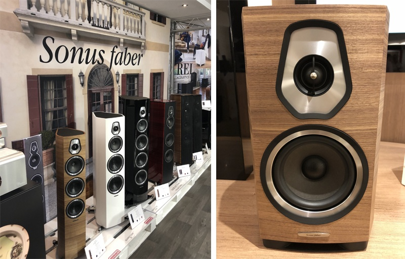 La marque Sonus Faber au salon Paris AudioVideo Show 2018