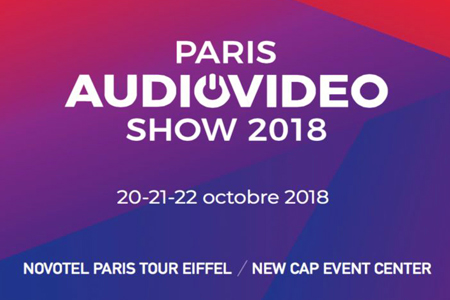 Salon Paris AudioVideo Show 2018