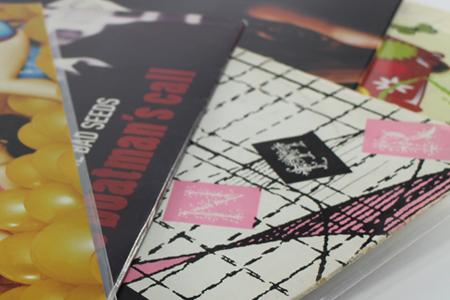 Rangements pour disques vinyles