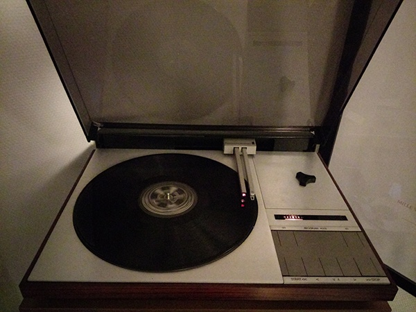 Platine vinyle Bang and Olufsen