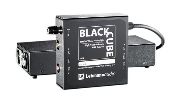 Préamplificateur phono Lehmann Audio Black Cube SE