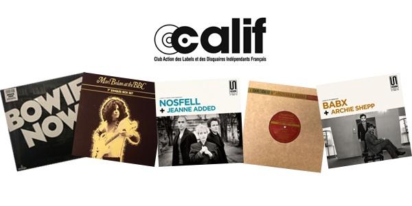 Lots de disque vinyle Calif