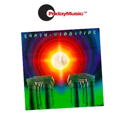 Disque vinyle du label de musique Friday Music