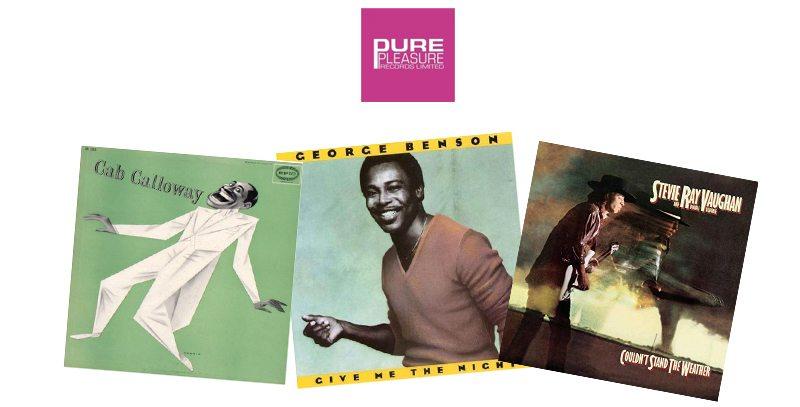 Disques vinyles du label de musique Pure Pleasure
