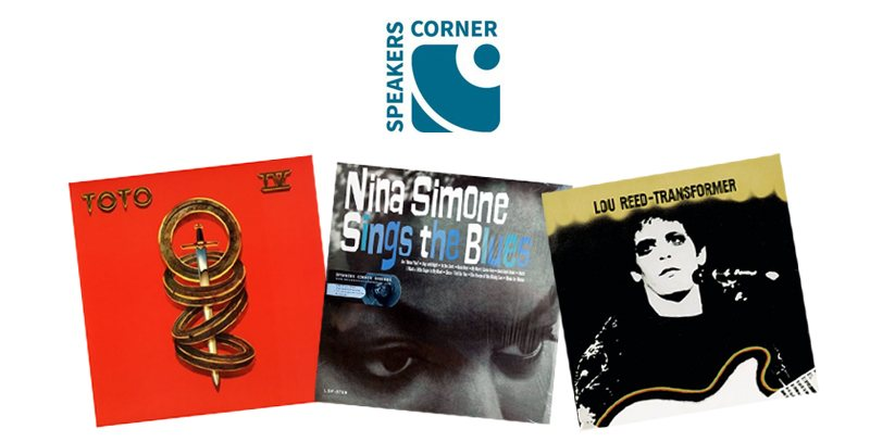 Disques vinyles du label de musique Speakers Corner