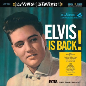 Disque vinyle Speakers Corner - Elvis Presley is Back