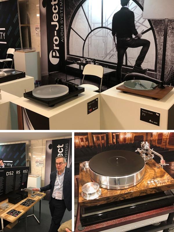 La marque Pro-Ject au salon Paris Audio Video Show 2019