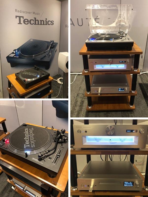 La marque Technics au salon Paris Audio Video Show 2019