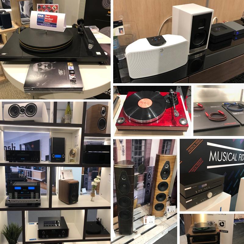 Les marques Hi-Fi présentes au salon Paris Audio Video Show 2019