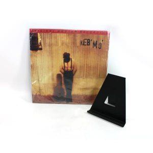 Disque vinyle et présentoir pour vinyles MoFi