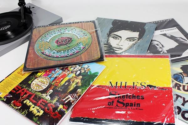 Disques vinyles audiophiles