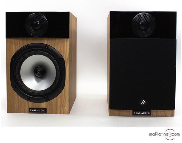 Enceintes de bibliothèque Fyne Audio F300