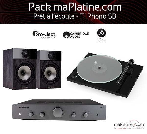 Pack prêt-à-l'écoute T1 Phono SB