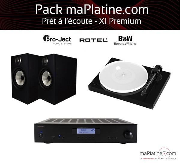 Pack prêt-à-l'écoute X1 Premium