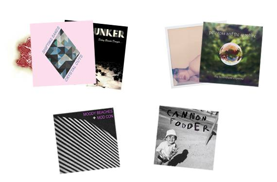 Lots de disques vinyles du label Beast Records