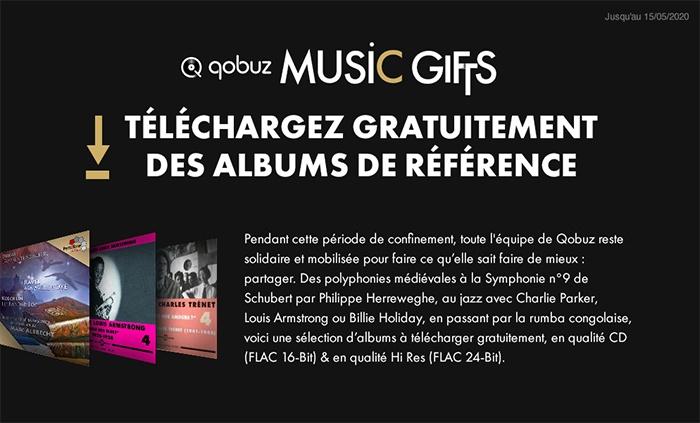 Téléchargez gratuitement des albums de référence sur Qobuz