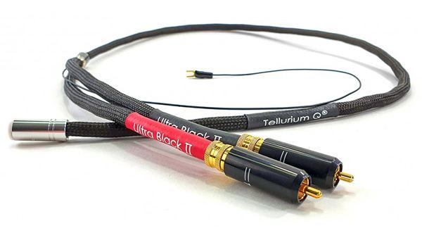 Câble phono Tellurium Q Ultra Black II