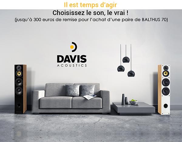 Offre de reprise Davis Acoustics - 2020