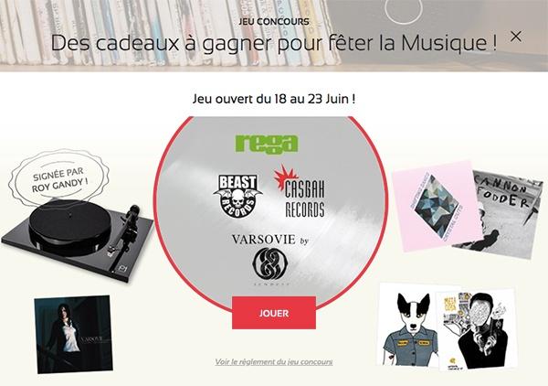 Jeu concours de la Musique 2020 - maPlatine.com