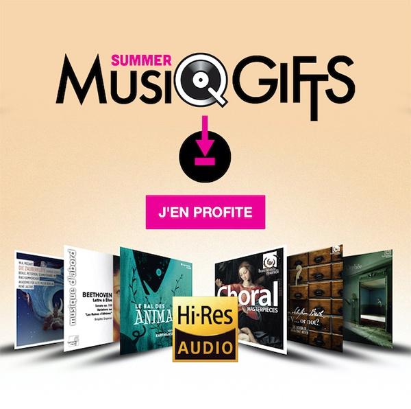 Offre Summer Music Gifts 2020 par Qobuz