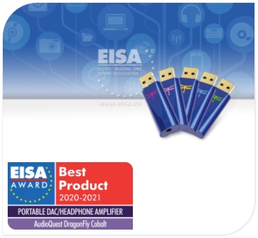 Prix EISA 2020-2021 - DAC USB Audioquest DragonFly Cobalt