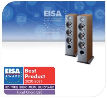 Prix EISA 2020-2021 - Enceintes Focal Chora 826